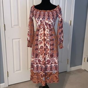 Off the shoulder BRAND NEW dress